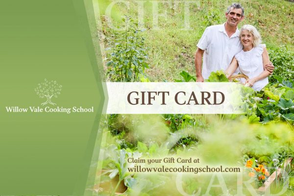 WilloVale Cookin School gift card